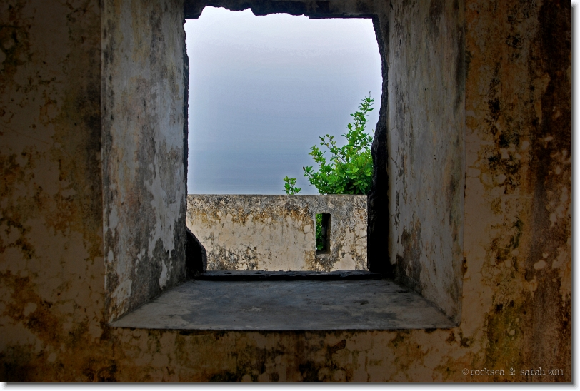 View from the Altar at the Korlai Fort Church